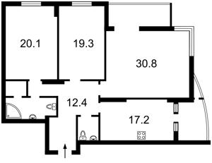 Квартира Лобановського просп. (Червонозоряний просп.), 4а, Київ, Z-294258 - Фото2