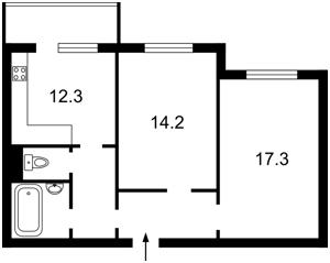 Квартира Вишняківська, 12а, Київ, Z-385131 - Фото2