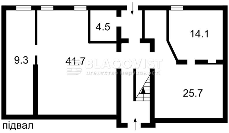 Нежитлове приміщення, C-106133, М.Житомирська, Київ - Фото 3