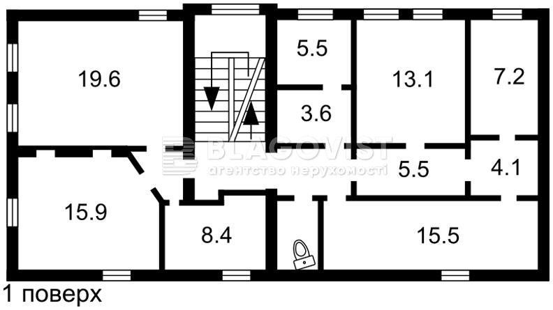 Нежитлове приміщення, C-106133, М.Житомирська, Київ - Фото 2