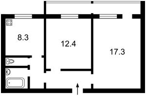 Квартира Стуса Василия (Радгоспная), 27, Киев, R-24577 - Фото2