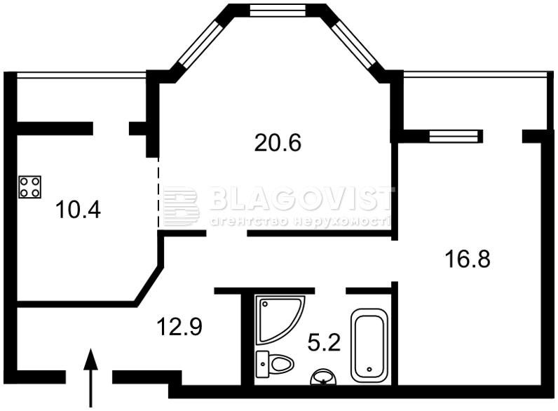 Квартира D-34777, Никольско-Слободская, 2в, Киев - Фото 6