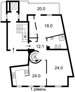 Квартира Франко Ивана, 4, Киев, Z-1085522 - Фото2