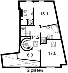 Квартира Франка Івана, 4, Київ, Z-1085522 - Фото 3