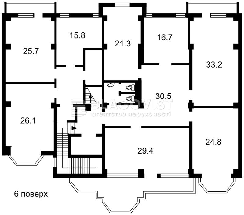 Нежилое помещение, C-106177, Франко Ивана, Киев - Фото 8