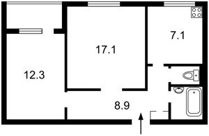 Квартира Героев Сталинграда просп., 19, Киев, Z-937332 - Фото2