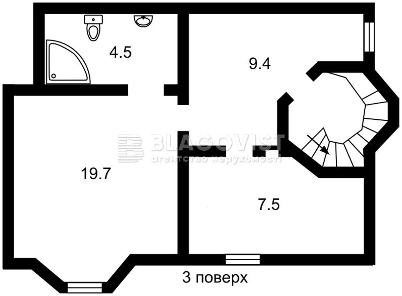Будинок F-41332, Скіфська, Софіївська Борщагівка - Фото 5