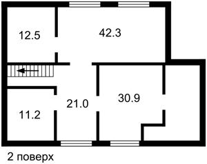Будинок Вишгород, Z-369256 - Фото 3