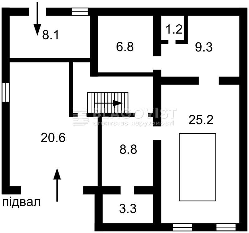 Дом R-24605, Ворзельская, Ирпень - Фото 2