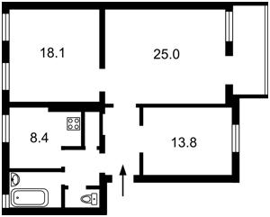 Квартира Бульварно-Кудрявська (Воровського), 31а, Київ, R-24756 - Фото2