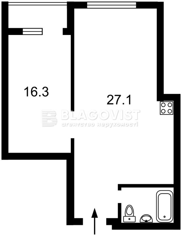 Квартира H-43847, Саксаганского, 37к, Киев - Фото 6