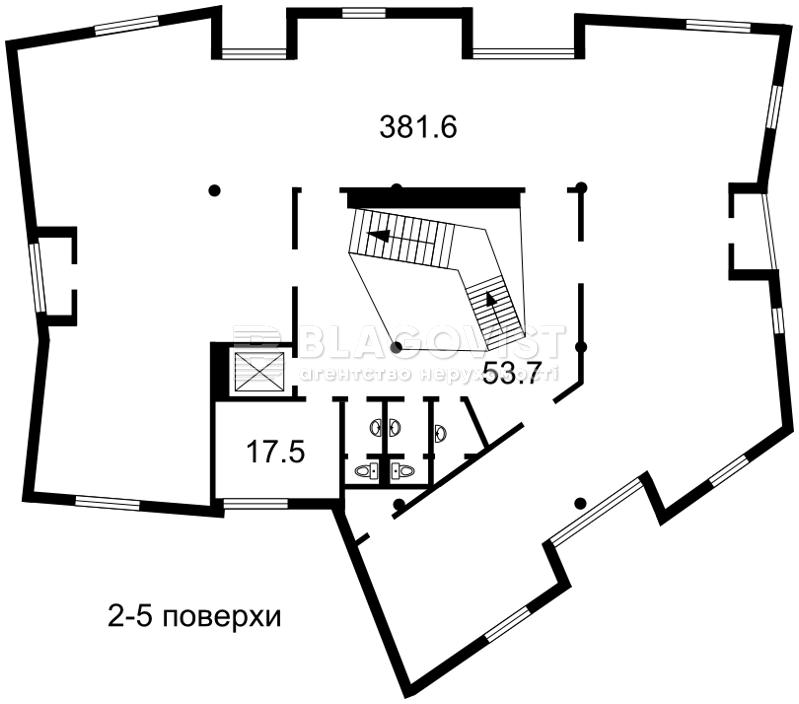 Офис, Феодосийская, Киев, F-41311 - Фото 3