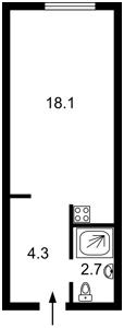 Квартира Соборности просп. (Воссоединения), 17 корпус 2, Киев, R-16466 - Фото2