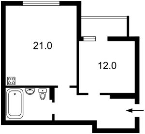 Квартира Червонопільська, 2г, Київ, Z-233190 - Фото2