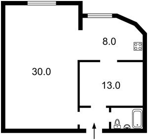 Квартира Героїв Сталінграду просп., 10а, Київ, Z-504583 - Фото2