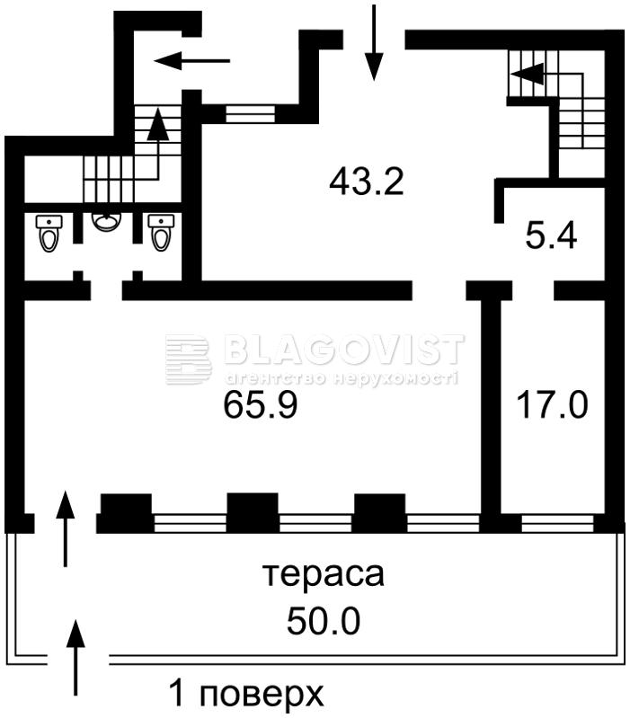 Нежилое помещение, A-110004, Орлика Филиппа, Киев - Фото 2