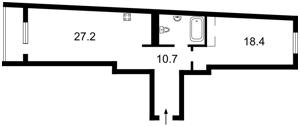 Квартира Голосіївський проспект (40-річчя Жовтня просп.), 60, Київ, F-40412 - Фото2