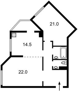 Квартира Иорданская (Гавро Лайоша), 1, Киев, Z-1103989 - Фото2