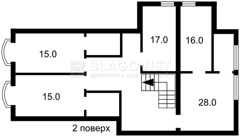 Дом A-110020, Черногорская, Киев - Фото 6