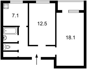 Квартира Героев Сталинграда просп., 44, Киев, F-41362 - Фото2