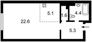 Квартира Максимовича Михаила (Трутенко Онуфрия), 26, Киев, R-25170 - Фото2