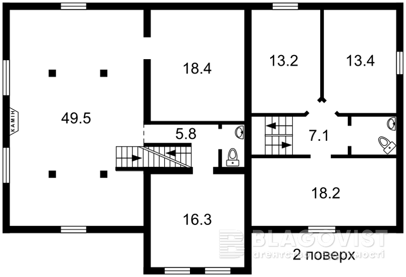 Дом Z-519087, Толстого, Ирпень - Фото 4