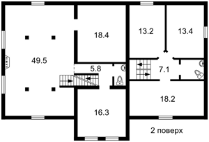 Дом Толстого, Ирпень, Z-519087 - Фото 3