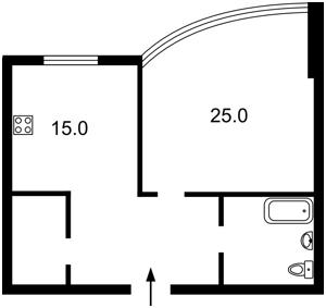Квартира Дружби Народів бул., 14/16, Київ, Z-1676937 - Фото2