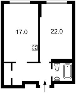 Квартира Драгоманова, 38а, Киев, Z-509871 - Фото2
