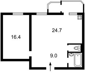 Квартира Булаховського Академіка, 5б, Київ, Z-512972 - Фото2