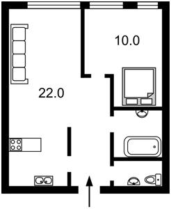 Квартира Регенераторная, 4 корпус 13, Киев, Z-457243 - Фото2