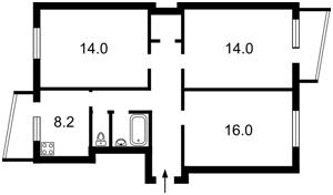 Квартира Демеевская, 47, Киев, H-44062 - Фото2