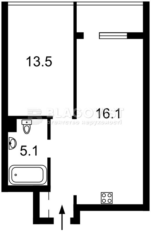 Квартира Z-327239, Джона Маккейна (Кудри Ивана), 7, Киев - Фото 9