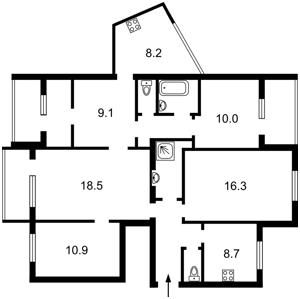 Квартира Котовського, 43, Київ, Z-1748268 - Фото2