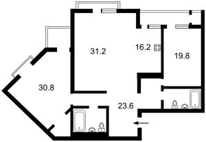 Квартира P-25546, Коновальца Евгения (Щорса), 44а, Киев - Фото 6