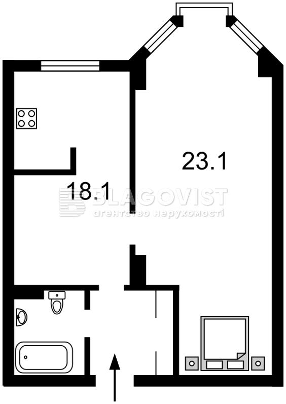 Квартира Z-348189, Полтавская, 10, Киев - Фото 7
