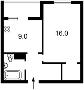 Квартира Данченко Сергея, 30, Киев, Z-516761 - Фото2