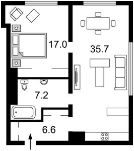 Квартира Саперное Поле, 3, Киев, C-106344 - Фото2