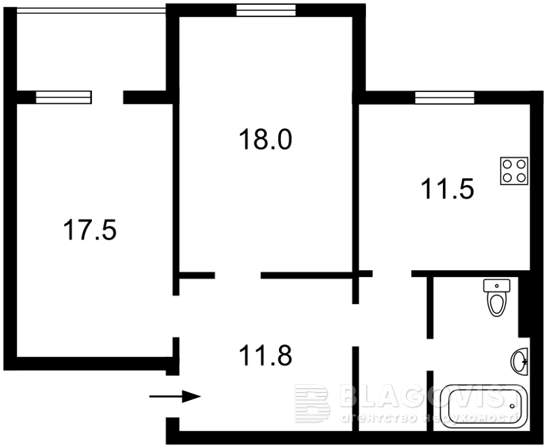 Квартира F-41544, Науки просп., 60, Киев - Фото 5