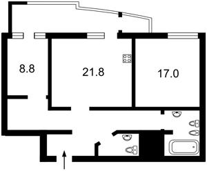 Квартира Тютюнника Василия (Барбюса Анри), 37/1, Киев, Z-513509 - Фото2