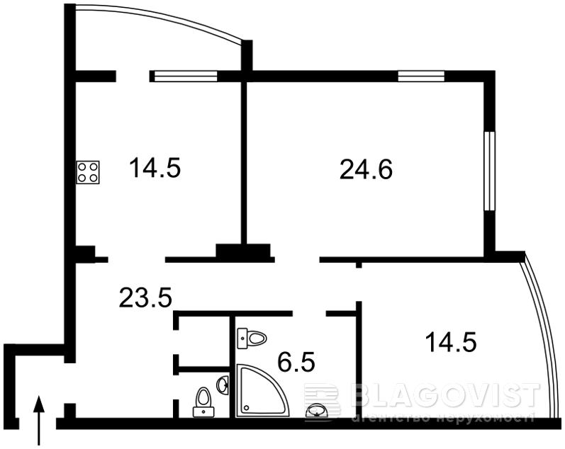 Квартира Z-232076, Подвысоцкого Профессора, 6в, Киев - Фото 6