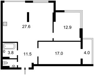 Квартира Феодосийская, 1, Киев, R-25143 - Фото2