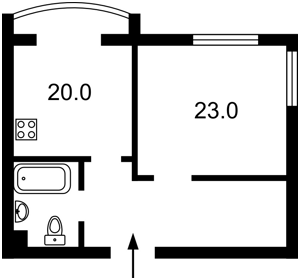 Квартира Героев Сталинграда просп., 10а корпус 1, Киев, R-25633 - Фото2