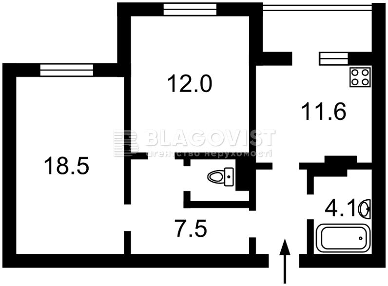 Квартира R-25651, Гмыри Бориса, 14б, Киев - Фото 4