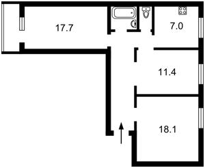 Квартира Победы просп., 73/1, Киев, Z-520657 - Фото 2