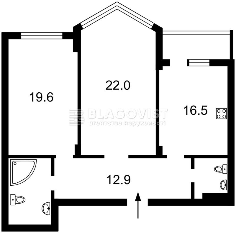 Квартира H-44204, Вишгородська, 45, Київ - Фото 5