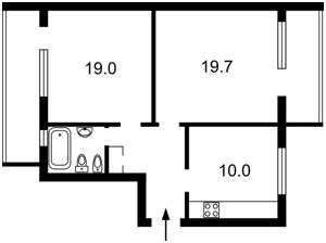 Квартира Волынская, 10, Киев, R-25540 - Фото 2