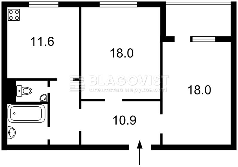 Квартира M-34964, Урловская, 38, Киев - Фото 5