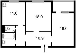 Квартира Урловская, 38, Киев, M-34964 - Фото2