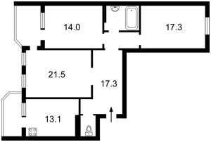 Квартира Княжий Затон, 11, Киев, Z-524433 - Фото2
